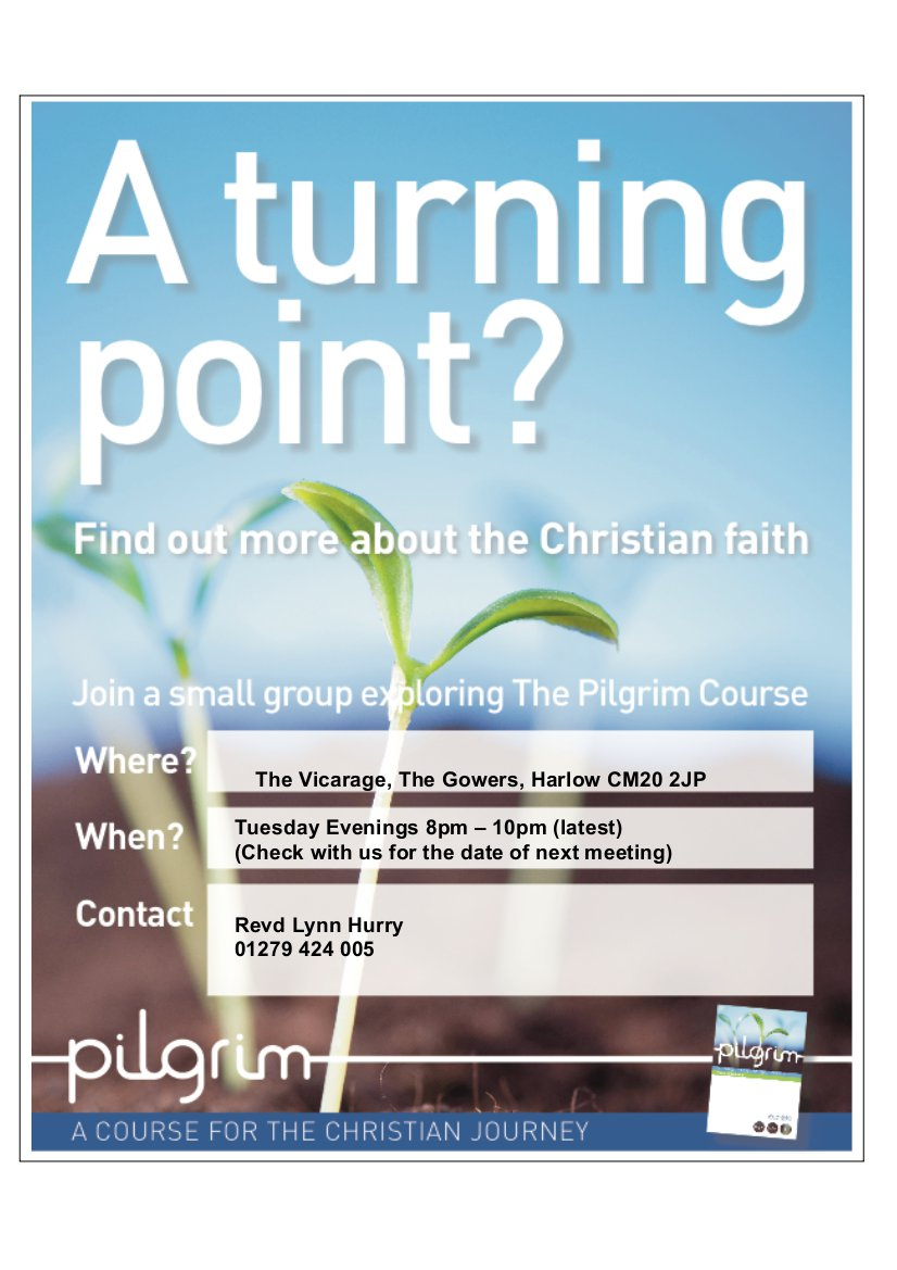 A Turning Point Poster